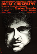 "Movie Posters:Crime, The Godfather (Paramount, 1973). Polish One Sheet (22.5"" X 32.5"")....."