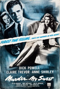 "Movie Posters:Film Noir, Murder, My Sweet (RKO, 1944). Uncut Pressbook (20 Pages, 12"" X18""). ..."