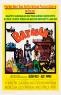 "Movie Posters:Action, Batman (20th Century Fox, 1966). One Sheet (27"" X 41.5"").. ..."