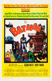 "Batman (20th Century Fox, 1966). One Sheet (27"" X 41.5"")"