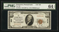 National Bank Notes:Pennsylvania, Pottstown, PA - $10 1929 Ty. 1 The NB of Pottstown Ch. # 608. ...