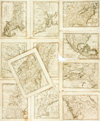 "[S. G. Goodrich]. Eleven United States Maps From an Unidentified Atlas, Circa 1840. 5.5"" x 7"". Disbound from a..."