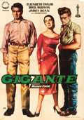 "Movie Posters:Drama, Giant (Izaro Films, 1959). Spanish One Sheet (27"" X 39"").. ..."