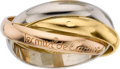 Estate Jewelry:Rings, Cartier Gold Ring. ...