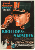 "Movie Posters:Drama, The Wedding March (Paramount, 1928). Swedish One Sheet (27.5"" X39"").. ..."