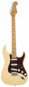 Musical Instruments:Electric Guitars, 1996 Fender Stratocaster White Solid Body Electric Guitar,#N6141726....