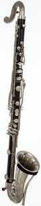 Musical Instruments:Horns & Wind Instruments, 1960's King Black Bass Clarinet, #53644....
