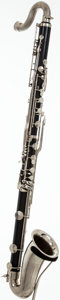 Musical Instruments:Horns & Wind Instruments, Late 1970's LeBlanc Vito Black Bass Clarinet, #44026....