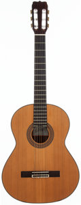 Musical Instruments:Acoustic Guitars, Circa 1998 Jose Ramirez R4 Natural Classical Guitar, #N/A....