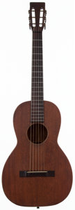 Musical Instruments:Acoustic Guitars, 1930 Martin 2-17 Natural Acoustic Guitar, #44728....
