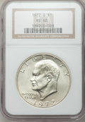 Eisenhower Dollars: , 1972-S $1 Silver MS68 NGC. NGC Census: (399/5). PCGS Population (1553/17). Mintage: 2,193,056. Numismedia Wsl. Price for pr...