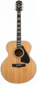 Musical Instruments:Acoustic Guitars, 1980's Yamaha CJ-838S Natural Acoustic Guitar, #90703571....