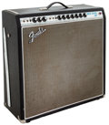 Musical Instruments:Amplifiers, PA, & Effects, 1968 Fender Super Reverb Black Guitar Amplifier, #A28095....