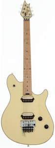 Musical Instruments:Electric Guitars, 2009 Peavey EVH Wolfgang White Solid Body Electric Guitar, Serial # WG00903A....