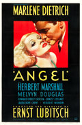 "Movie Posters:Drama, Angel (Paramount, 1937). One Sheet (27"" X 40.5"").. ..."