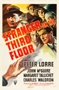 "Movie Posters:Film Noir, Stranger on the Third Floor (RKO, 1940). One Sheet (27"" X 41"")....."
