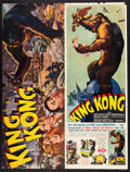 "Movie Posters:Horror, King Kong (RKO, 1933). Pressbook (12"" X 32"") (20 Pages).. ..."