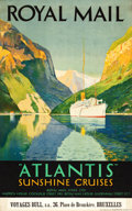 """Movie Posters:Miscellaneous, Royal Mail Line Travel Poster (c.1935). Poster (25"""" X 40"""").. ..."""