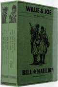 Books:Art & Architecture, [Cartoons]. Bill Mauldin. Willie and Joe: The WWII Years. Fantagraphics Books, 2008. First edition. Two quarto v...