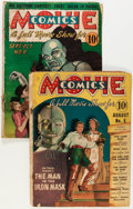 Golden Age (1938-1955):Miscellaneous, Movie Comics #5 and 6 Group (DC, 1939) Condition: Average FR.... (Total: 2 Comic Books)