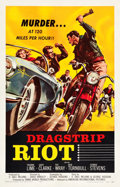 "Movie Posters:Exploitation, Dragstrip Riot (American International, 1958). One Sheet (27"" X41.5"").. ..."