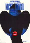 "Movie Posters:Academy Award Winners, Midnight Cowboy (United Artists, 1969). Polish One Sheet (23"" X32.5).. ..."