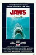 """Movie Posters:Horror, Jaws (Universal, 1975). One Sheet (27"""" X 41"""").. ..."""