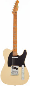 Musical Instruments:Electric Guitars, Circa 1976 Aims Telecaster Copy Blonde Solid Body Electric Guitar,#N/A....