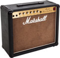 Musical Instruments:Amplifiers, PA, & Effects, 1986 Marshall Master Lead Combo Black Guitar Amplifier, #U39628....