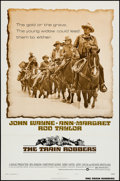 "Movie Posters:Western, The Train Robbers (Warner Brothers, 1973). One Sheet (27"" X 41"") Style B. Western.. ..."