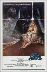 """Star Wars (20th Century Fox, 1977). One Sheet (27"""" X 41"""") Style A. Science Fiction"""