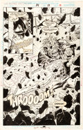Original Comic Art:Splash Pages, Bill Wylie and Tony DeZuniga Secret Defenders #21 Page 11Splash Page Original Art (Marvel, 1994)....