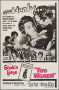 """Movie Posters:Foreign, Two Women (Embassy, 1960). One Sheet (27"""" X 41""""). Foreign.. ..."""