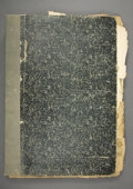 "Western Expansion:Cowboy, BOUND VOLUME OF THE RARE ""TOMBSTONE DAILY PROSPECTOR"" FOR THEENTIRE YEAR OF 1889 - This is an entire volume and an excellen..."