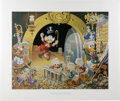 "Original Comic Art:Miscellaneous, ""Hands Off My Playthings"" by Carl Barks Lithograph Print #4/345(Another Rainbow, 1997)...."