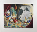 """Original Comic Art:Miscellaneous, """"In the Cave of Ali Baba"""" by Carl Barks Lithograph Print #4/595(Another Rainbow, 1997)...."""