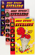 Silver Age (1956-1969):Humor, Hot Stuff Sizzlers File Copy Short Box Group (Harvey, 1961-74)....