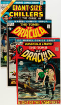 Bronze Age (1970-1979):Horror, Tomb of Dracula #1-36 Near-Complete Range Group (Marvel, 1972-75)Condition: Average FN+.... (Total: 42 Comic Books)