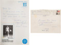 Basketball Collectibles:Others, 1982 Michael Jordan Handwritten Apology Letter with ThreeAutographs!...