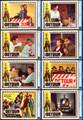 "Movie Posters:Film Noir, Detour (PRC, 1945). CGC Graded Lobby Card Set of 8 (11"" X 14"").. ... (Total: 8 Items)"