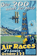 """Movie Posters:Miscellaneous, International Air Races (Allied Printing, 1923). Poster (13.75"""" X21"""").. ..."""