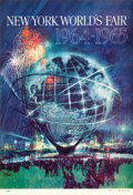 "Movie Posters:Miscellaneous, New York World's Fair 1964-1965 (United States Steel, 1962).Posters (2) (11"" X 16"").. ... (Total: 2 Items)"