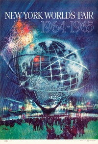 "New York World's Fair 1964-1965 (United States Steel, 1962). Posters (2) (11"" X 16""). ... (Total: 2 Items)"