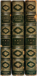 Books:Literature Pre-1900, [John Milton]. The Poetical Works of John Milton. London:William Pickering, 1832. The Aldine edition of the British...(Total: 3 Items)