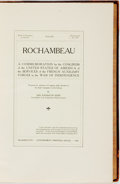 Books:Americana & American History, De Benneville Randolph Keim (U.S. Congress). Rochambeau: ACommemoration by the Congress of the United States ofAmerica...