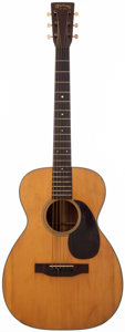 Musical Instruments:Acoustic Guitars, 1943 Martin 0-18 Natural Acoustic Guitar, #85877....