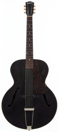 Musical Instruments:Acoustic Guitars, 1946 Gibson L-47 Black Archtop Acoustic Guitar, Serial # 678B....