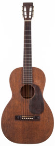 Musical Instruments:Acoustic Guitars, 1931 Martin 1-17 Natural Acoustic Guitar, #18926....