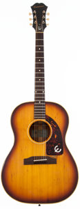 Musical Instruments:Acoustic Guitars, 1963 Epiphone FT-45 Cortez Natural Acoustic Guitar, #159035....