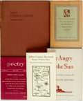 Books:Furniture & Accessories, Robinson Jeffers. Group of Five Books. Various publishers anddates. Publisher's bindings with original dust jackets or wrap...(Total: 5 Items)